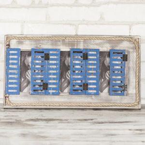 Рамка за снимка прозорец - сив