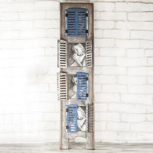 Рамка за снимка прозорец - за 3 броя снимки